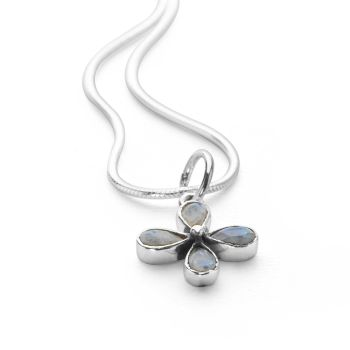 Daisy Blue Pendant