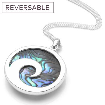 Eye of the Ocean Reversable Pendant