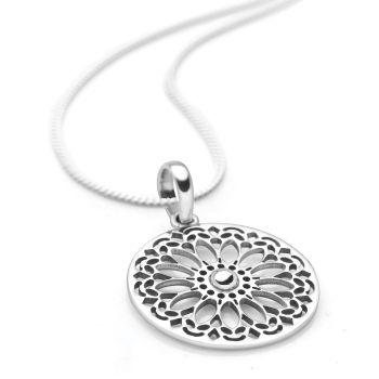 Daisy Mandala Pendant