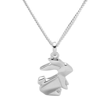 Origami Bunny Pendant