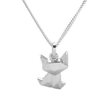 Origami Cat Pendant