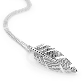 Spiritual Feather Pendant