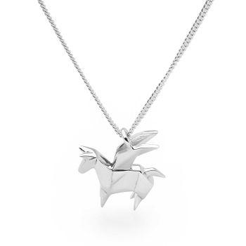 Origami Pegasus Pendant
