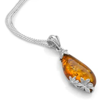 Amber Folly Pendant