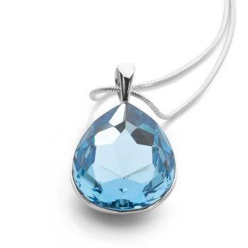 Crystal Tears Pendant (Sky Blue)