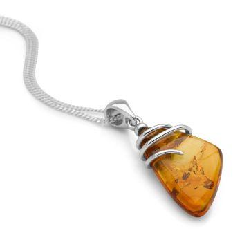 Amber Aura Pendant