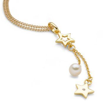 Golden Stardust Pendant