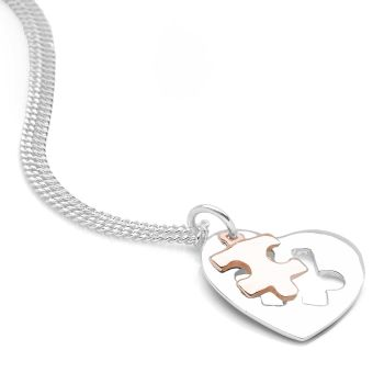 Missing Piece of My Heart Pendant