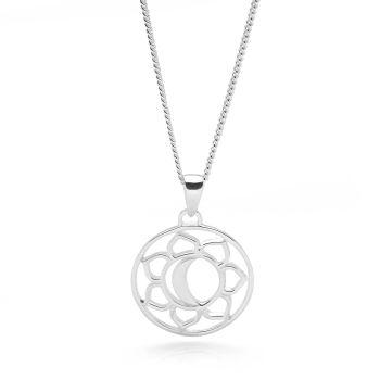 Silver Sacral Chakra Pendant