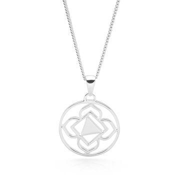 Silver Root Chakra Pendant