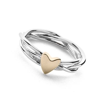 Heart of Gold Ring