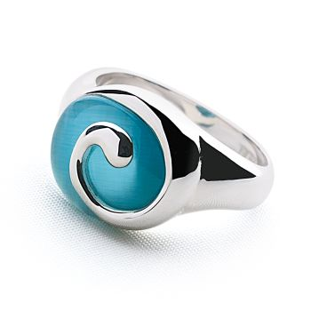 Deep Blue Sea Ring