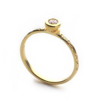 La Belle Stack Ring (Round)