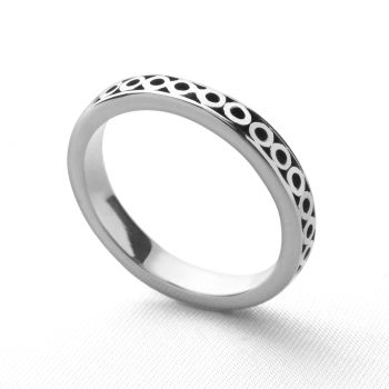 Metro Stack Ring (Circles)