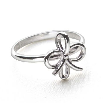 Silver Tie Ring