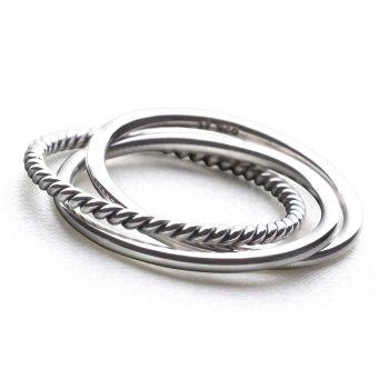Triplicate Ring
