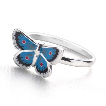 Butterfly Blues Ring