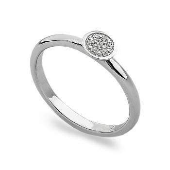 Sparkling Round Stack Ring