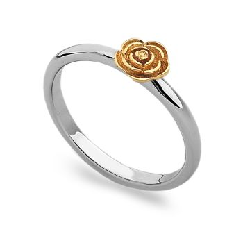 Gold Rose Stack Ring