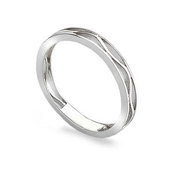 Zig-Zag Stack Ring