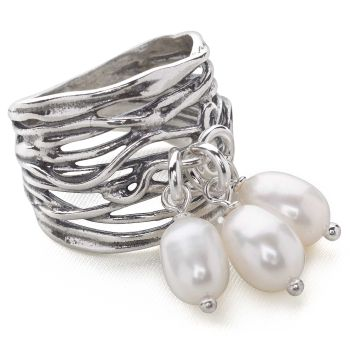 Pearl Collector Ring