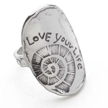 Ammonite Relic Ring