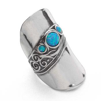 Opal Cuff Ring