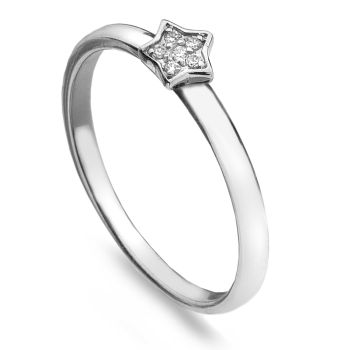 Sparkling Star Stack Ring