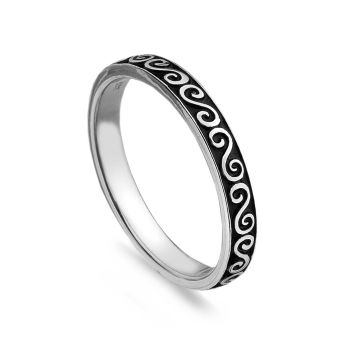 Swirl Stack Ring