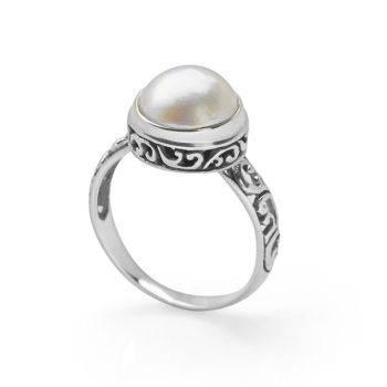 Bali Moon Ring