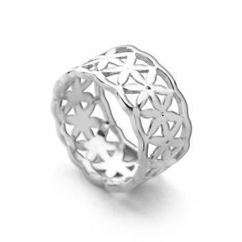 Circle of Life Ring (Silver)