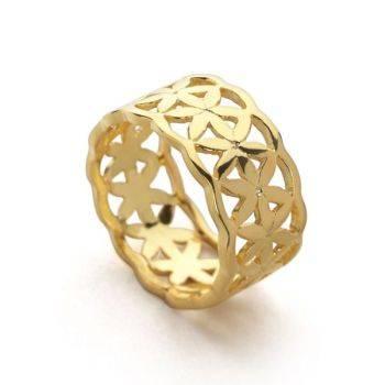 Circle of Life Ring (Gold)