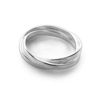 Flat Russian Wedding Ring
