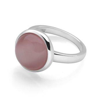 Radiance Ring (Pink Cat's Eye)