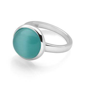 Radiance Ring (Green Cat's Eye)