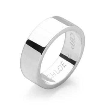 Hidden Message Ring (Flat)