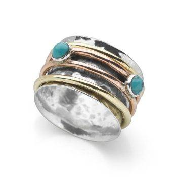 Turquoise Spin Ring