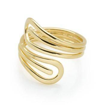 Golden Wrap Ring