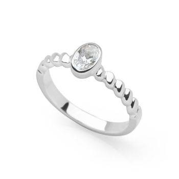 Silver Glimmer Ring