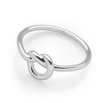 Silver Twine Ring