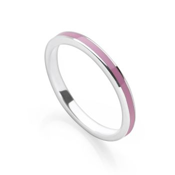 Soft Purple Stack Ring