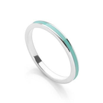 Turquoise Blue Stack Ring