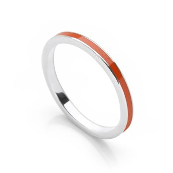 Orange Stack Ring