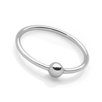 Silver Planet Ring