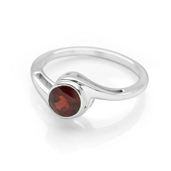 Garnet Symphony Ring