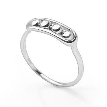 Silver Carousel Ring
