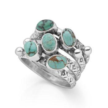 Turquoise Savita Ring