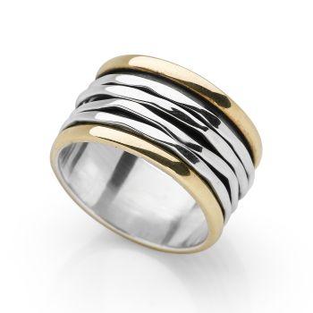 Strand Spin Ring