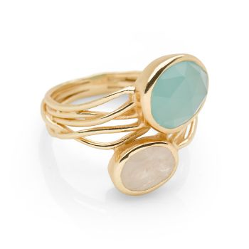 Alila Ring (Gold Plate)