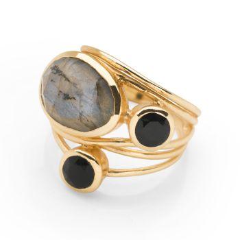 Marari Ring (Gold Plate)